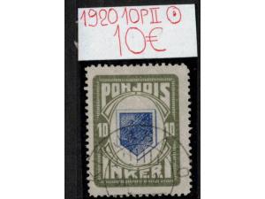 Inkeri 1920 Leimattu